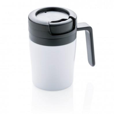 Coffee to go Tasse, weiß weiß