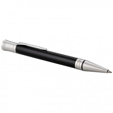 Duofold Premium Kugelschreiber, schwarz,chrom