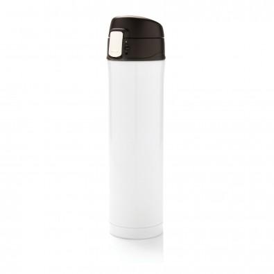Easy Lock Vakuum Flasche, weiß, weißschwarz
