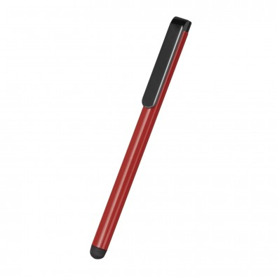 Eingabestift für Smartphones und Tabletcomputer LISBON rot