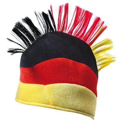Fanhut Irokese Deutschland-Farben