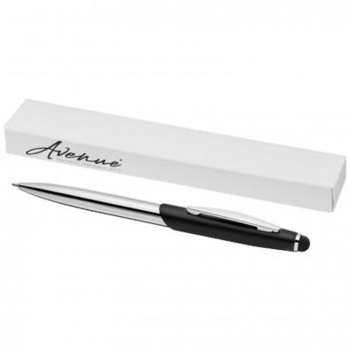 Geneva Stylus Kugelschreiber, schwarz,silber