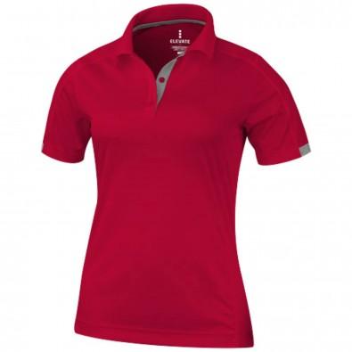 Kiso – Poloshirt cool fit für Damen, rot, XS