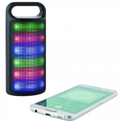 Bluetooth-Lautsprecher Light  Sound, Schwarz
