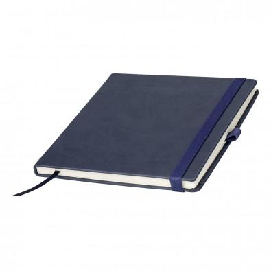 Notizbuch MYRIX 17 x 17 mm liniert, blau