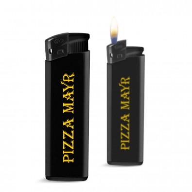 Piezo Feuerzeug  Kontrast, Schwarz
