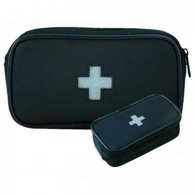 BLACKMAXX® Reiseverbandstasche First Aid, schwarz