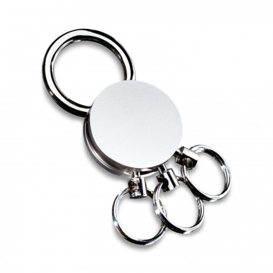 Schlüsselanhänger REFLECTS-MULTI I, silber