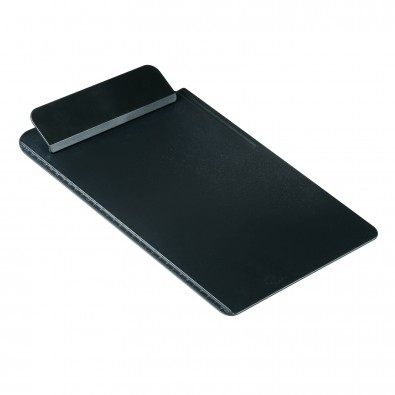Schreibboard DIN A4 schwarz mit Anlegeleiste