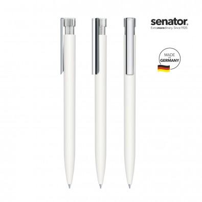SENATOR Liberty Soft Touch MC Druckkugelschreiber, weiß