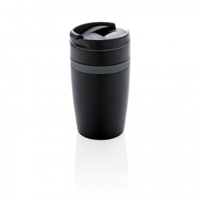 Sierra auslaufsicherer Vakuum-Becher, schwarz, anthrazit