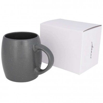 Stein 590 ml Keramiktasse, grau