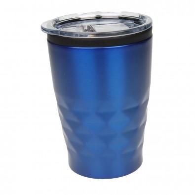Thermobecher Diamant Blau-Metallic