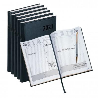 Werbe-Set: 70 Buchkalender, Schwarz